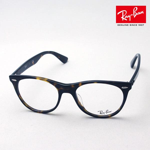 NewModel 正規レイバン日本最大級の品揃え レイバン メガネ フレーム ウェイファーラー Ray-Ban RX2185VF 2012 伊達メガネ 度付き ブルーライト カット 眼鏡 黒縁 RayBan ウェリントン