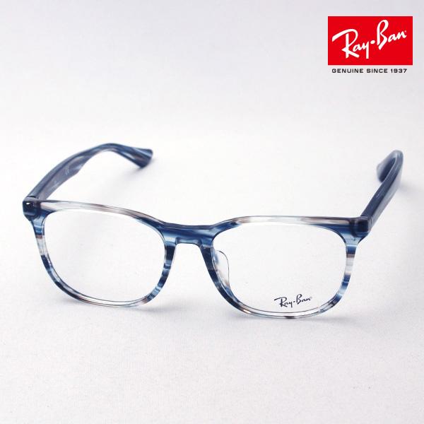 NewModel 正規レイバン日本最大級の品揃え レイバン メガネ フレーム Ray-Ban RX5369F 5750 伊達メガネ 度付き ブルーライト カット 眼鏡 RayBan スクエア