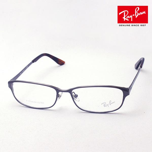 4月7日(日)23時59分終了 ほぼ全品ポイント20倍 正規レイバン日本最大級の品揃え レイバン メガネ フレーム Ray-Ban RX8716D 1047 伊達メガネ 度付き ブルーライト カット 眼鏡 メタル RayBan スクエア