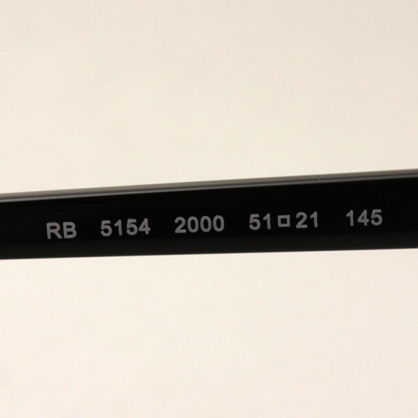 RX5154 2000 年雷斑雷禁令眼镜俱乐部主 CLUBMASTER 吹类型 glassmania 眼镜框架眼镜 ITA 眼镜眼镜黑色