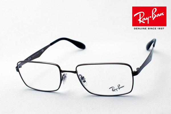 今夜23時59分終了 ほぼ全品がポイント15~20倍 正規レイバン日本最大級の品揃え レイバン メガネ フレーム Ray-Ban RX6329 2593 伊達メガネ 度付き ブルーライト ブルーライトカット 眼鏡 メタル RayBan スクエア