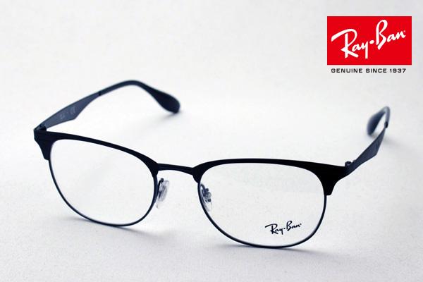 今夜23時59分終了 ほぼ全品がポイント15~20倍 正規レイバン日本最大級の品揃え レイバン メガネ フレーム Ray-Ban RX6346 2904 伊達メガネ 度付き ブルーライト ブルーライトカット 眼鏡 メタル 黒縁 RayBan ブロー