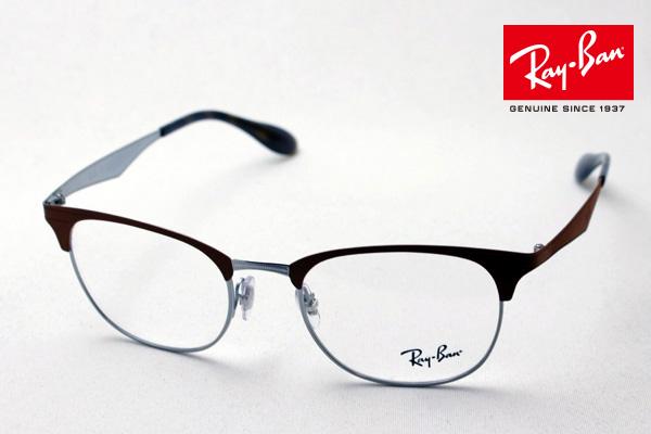 4月7日(日)23時59分終了 ほぼ全品ポイント20倍 正規レイバン日本最大級の品揃え レイバン メガネ フレーム Ray-Ban RX6346 2912 伊達メガネ 度付き ブルーライト カット 眼鏡 メタル RayBan ブロー