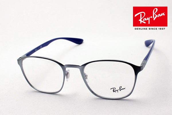 4月5日(金)23時59分終了 ほぼ全品ポイント20倍+5倍+2倍 正規レイバン日本最大級の品揃え レイバン メガネ フレーム Ray-Ban RX6357 2878 伊達メガネ 度付き ブルーライト カット 眼鏡 メタル RayBan スクエア