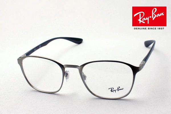 4月5日(金)23時59分終了 ほぼ全品ポイント20倍+5倍+2倍 正規レイバン日本最大級の品揃え レイバン メガネ フレーム Ray-Ban RX6357 2879 伊達メガネ 度付き ブルーライト カット 眼鏡 メタル RayBan スクエア
