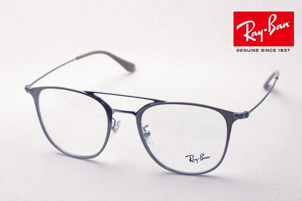 今夜23時59分終了 ほぼ全品がポイント15~20倍 正規レイバン日本最大級の品揃え レイバン メガネ フレーム ダブルブリッジ Ray-Ban RX6377 2909 伊達メガネ 度付き ブルーライト ブルーライトカット 眼鏡 メタル RayBan スクエア