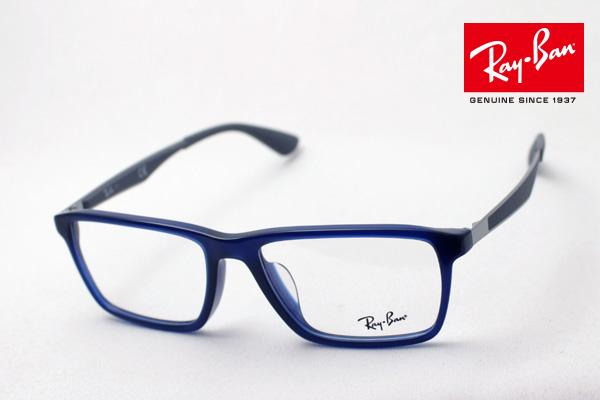 今夜23時59分終了 ほぼ全品がポイント15~20倍 正規レイバン日本最大級の品揃え レイバン メガネ フレーム Ray-Ban RX7056F 5538 伊達メガネ 度付き ブルーライト ブルーライトカット 眼鏡 RayBan スクエア
