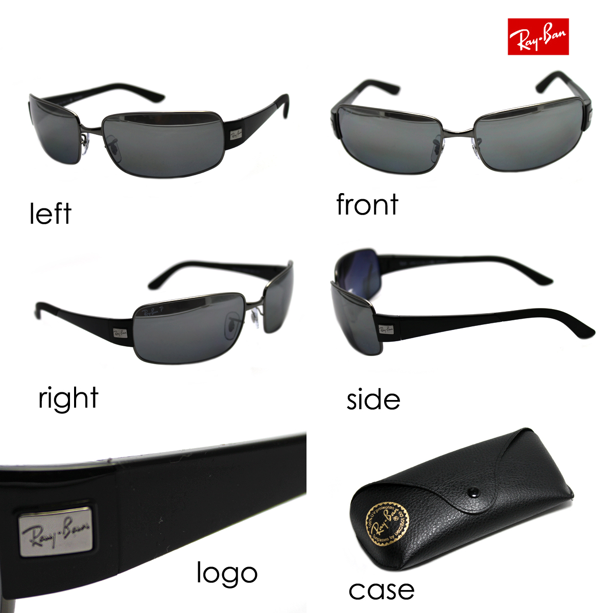 RB3421 00482 RayBan Ray Ban sunglasses polarized NEW ARRIVAL glassmania