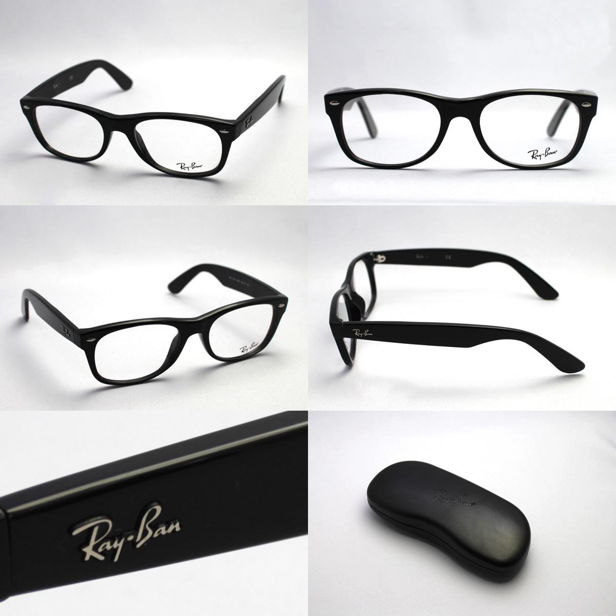 RX5184F2000 RayBan Ray Ban glasses Wayfarer glassmania New Wayfarer eyeglass frames eyeglasses ITA glasses glasses black