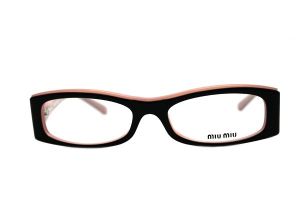 miumiu miu miu glasses mu10fv7vb1o1 glassmania glasses frame spectacles ita glasses glasses black - Miu Miu Glasses Frames