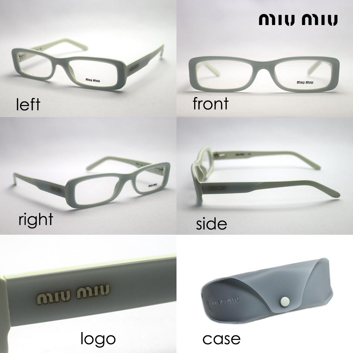 ae0d60331f7 miumiu Miu Miu glasses MU13FV7SO1O1 (W51mm) NEW ARRIVAL glassmania  eyeglasses frame glasses ITA glasses spectacles