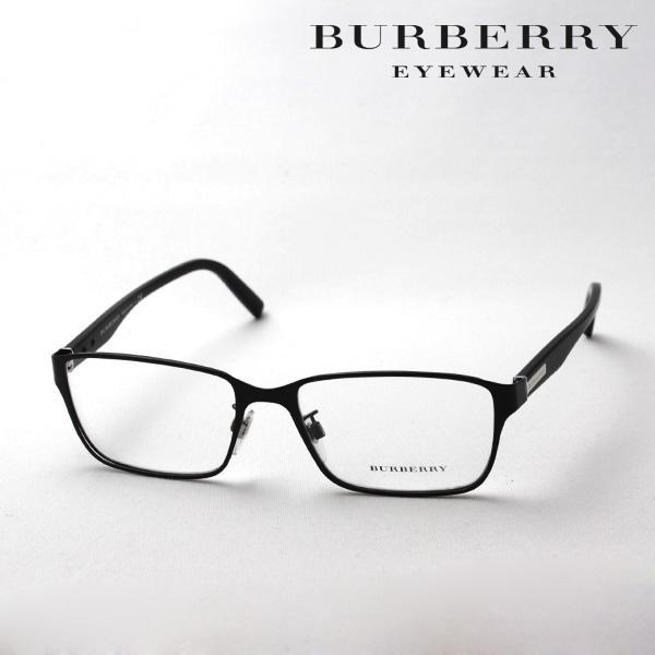 金曜朝9時59分終了 ほぼ全品がポイント15~20倍 【バーバリー メガネ 正規販売店】 BURBERRY BE1304D 1007 伊達メガネ 度付き ブルーライト ブルーライトカット 眼鏡 スクエア
