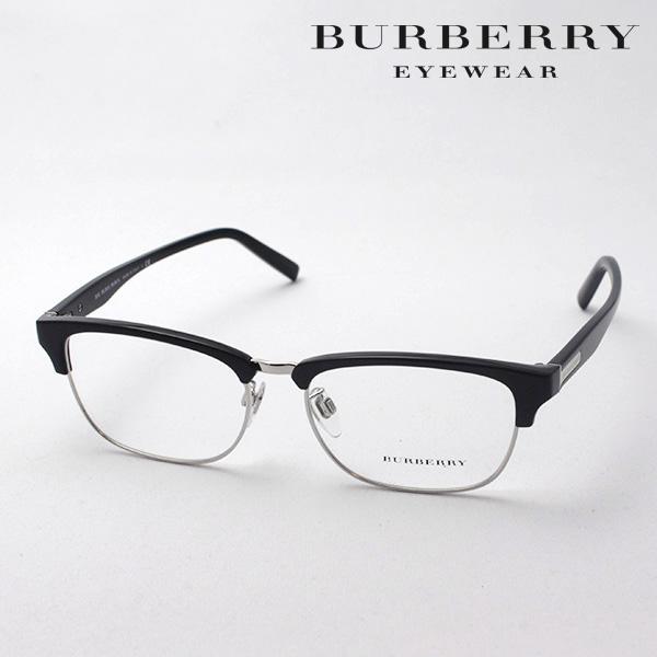 明日の朝9時59分終了 ほぼ全品がポイント15~20倍 【バーバリー メガネ 正規販売店】 BURBERRY BE2238D 3001 伊達メガネ 度付き ブルーライト ブルーライトカット 眼鏡 ブロー