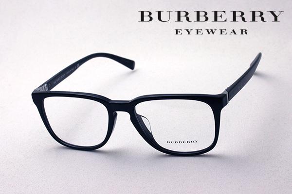 今夜23時59分終了 ほぼ全品がポイント15~20倍 【バーバリー メガネ 正規販売店】 BURBERRY BE2239F 3001 伊達メガネ 度付き ブルーライト ブルーライトカット 眼鏡 黒縁 ウェリントン