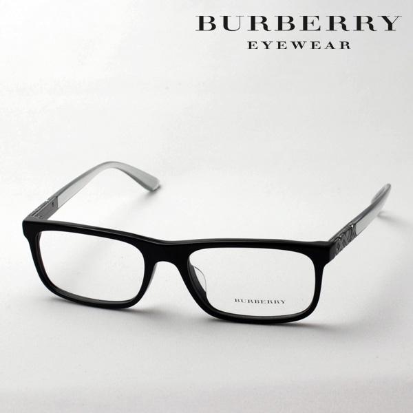 4月5日(金)23時59分終了 ほぼ全品ポイント20倍+5倍+2倍 【バーバリー メガネ 正規販売店】 BURBERRY BE2240F 3001 伊達メガネ 度付き ブルーライト カット 眼鏡 黒縁 スクエア