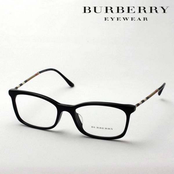 今夜23時59分終了 ほぼ全品がポイント15~20倍 【バーバリー メガネ 正規販売店】 BURBERRY BE2243QF 3001 伊達メガネ 度付き ブルーライト ブルーライトカット 眼鏡 黒縁 スクエア