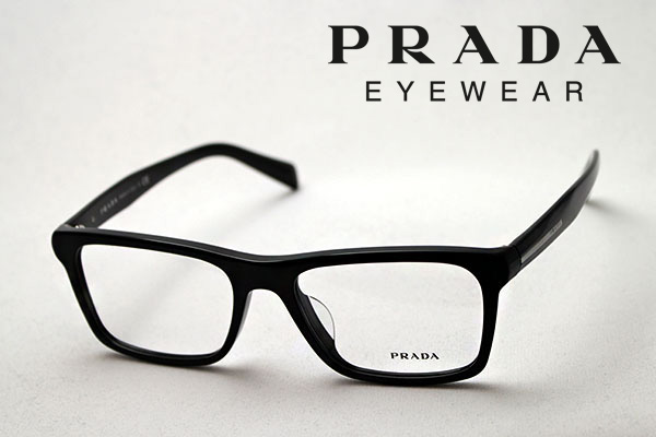 今夜23時59分終了 ほぼ全品ポイント15倍+5倍+2倍のトリプルチャンス 【PRADA】 プラダ メガネ PR06RVF 1AB1O1 伊達メガネ 度付き ブルーライト ブルーライトカット 眼鏡 DEAL ウェリントン