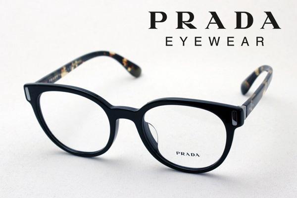 金曜朝9時59分終了 ほぼ全品がポイント15~20倍 【プラダ メガネ正規販売店】 PRADA PR06TVF 1AB1O1 伊達メガネ 度付き ブルーライト ブルーライトカット 眼鏡 CATWALK フォックス