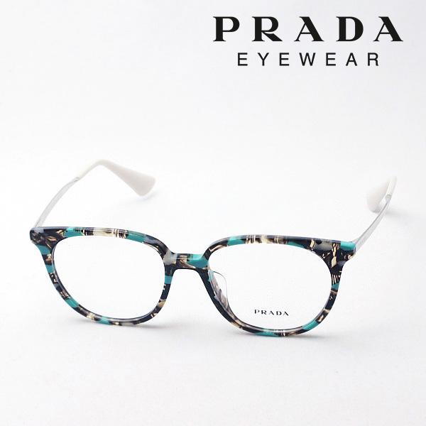 明日の朝9時59分終了 ほぼ全品がポイント15~20倍 【プラダ メガネ正規販売店】 PRADA NewModel PR13UVF KJJ1O1 伊達メガネ 度付き ブルーライト ブルーライトカット 眼鏡 シネマ CINEMA CATWALK Made In Italy スクエア