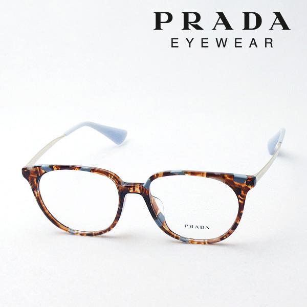 明日の朝9時59分終了 ほぼ全品がポイント15~20倍 【プラダ メガネ正規販売店】 PRADA NewModel PR13UVF KJO1O1 伊達メガネ 度付き ブルーライト ブルーライトカット 眼鏡 シネマ CINEMA CATWALK Made In Italy スクエア