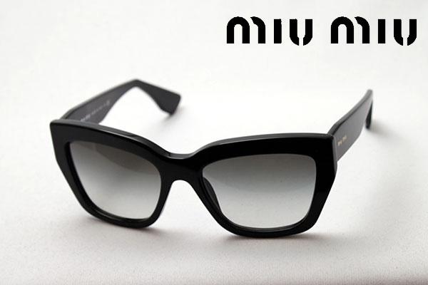 【miumiu】 ミュウミュウ サングラス MU01PS 1AB0A7 レディース フォックス