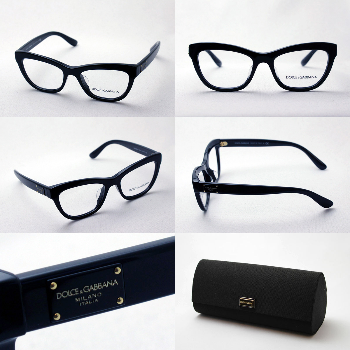 明日の朝9時59分終了 ほぼ全品20~25%ポイントバック  ドルチェ&ガッバーナ メガネDG3253F 501 伊達メガネ 度付き ブルーライト ブルーライトカット 眼鏡 ドルガバ フォックス