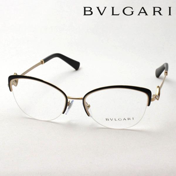 4月5日(金)23時59分終了 ほぼ全品ポイント20倍+5倍+2倍 【ブルガリ メガネ 正規販売店】 BVLGARI BV2198B 2033 伊達メガネ 度付き ブルーライト カット 眼鏡 NewModel Made In Italy フォックス