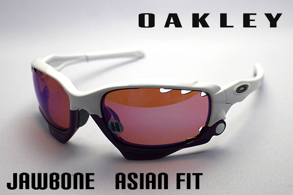 04-208 J Oakley Sunglasses jawbone Asian fit JAWBONE OAKLEY ASIAN FIT SPORT white series ladies ' men's uv cut glma