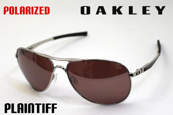 92741643e4 oo4057-06 Oakley Polarized Sunglasses plaintiff OAKLEY PLAINTIFF LIFE STYLE  Silver Series Teardrop Aviator ladies men s uv cut glma