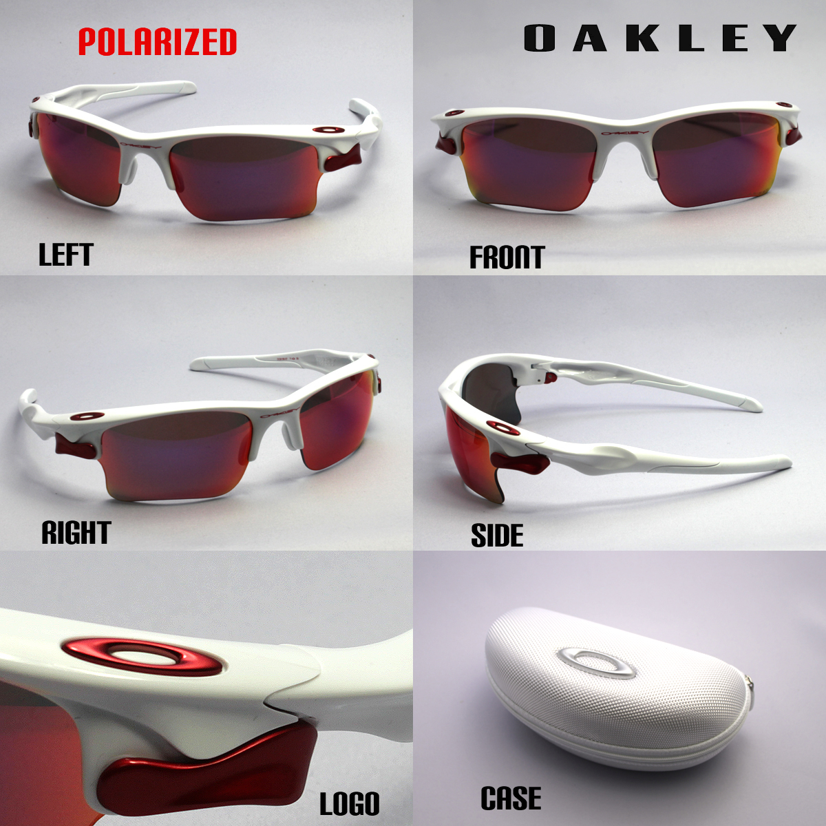 Oakley Fast Jacket Sunglasses  glassmania rakuten global market oo9156 07 oakley polarized