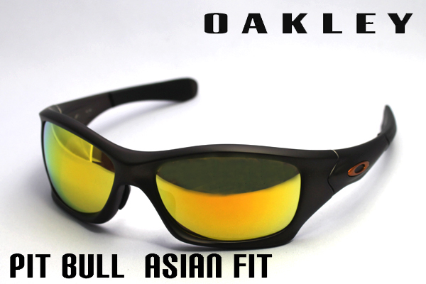 oo9161-03 Oakley Sunglasses pit bull Asian fit OAKLEY PIT BULL ASIAN FIT ACTIVE silver of women's men's uv cut glma