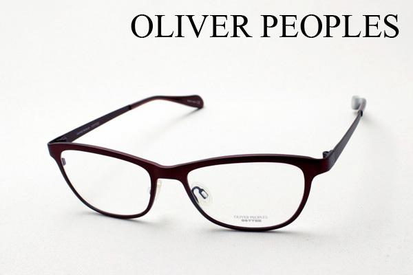 4月5日(金)23時59分終了 ほぼ全品ポイント20倍+5倍+2倍 【OLIVER PEOPLES】 オリバーピープルズ メガネ 伊達メガネ 度付き ブルーライト カット 眼鏡 OV1109T 5073 ALDEN フォックス