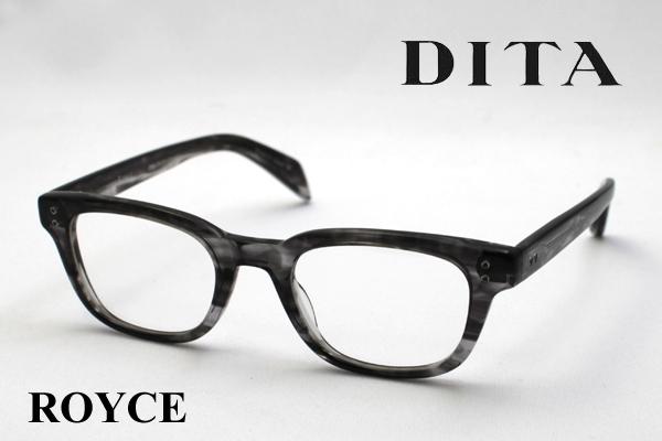 4月5日(金)23時59分終了 ほぼ全品ポイント20倍+5倍+2倍 【DITA】 ディータ メガネ 伊達メガネ 度付き ブルーライト カット 眼鏡 DRX-2007F ROYCE ロイス シェイプ