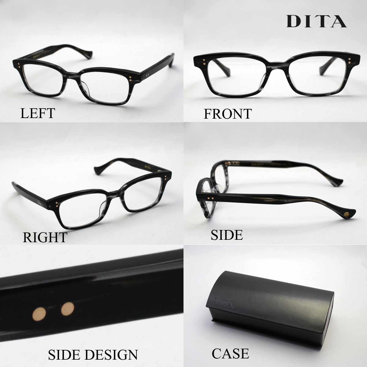 db4d2cdda67 It is approximately the blue light cut glasses DRX-3001A COURANTE shape  with all articles point 20 times +2 time +5 time ディータメガネ Date glasses  degree ...