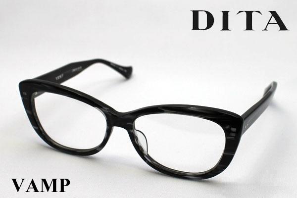 水曜の朝9時59分終了 ほぼ全品がポイント15~20倍 【DITA】 ディータ メガネ 伊達メガネ 度付き ブルーライト ブルーライトカット 眼鏡 DEAL DRX-3013A VAMP ヴァンプ シェイプ