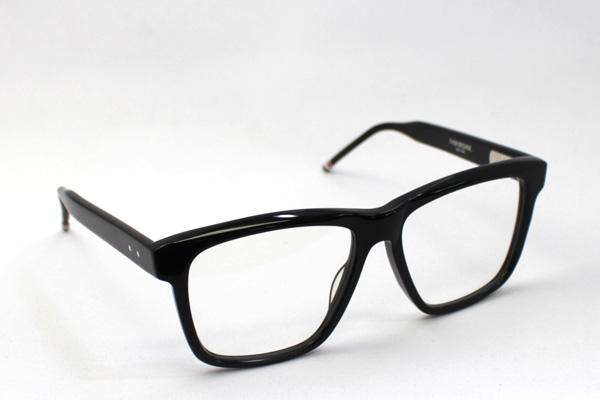 THOM BROWNE Thom 眼镜结核病-003 A 女士男士的眼镜时尚 ITA 眼镜黑色的 glma 新的股票没有边际度数镜片