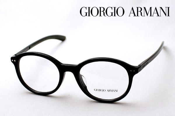 まもなく終了 ポイント10倍+2倍 8月2日(日)23時59分まで 【ジョルジオアルマーニ メガネ 正規販売店】 GIORGIO ARMANI AR7065QF 5017 伊達メガネ 度付き ブルーライト カット 眼鏡 丸メガネ ジョルジオ アルマーニ ボストン