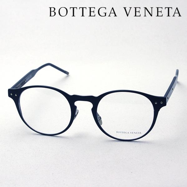 NewModel 4月7日(日)23時59分終了 ほぼ全品ポイント20倍 【BOTTEGA VENETA】ボッテガ ヴェネタ メガネ BV0180OA 001 ボッテガヴェネタ 伊達メガネ 度付き ブルーライト カット 眼鏡 Made In Italy ボストン
