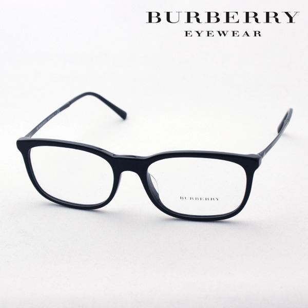 NewModel 4月5日(金)23時59分終了 ほぼ全品ポイント20倍+5倍+2倍 【バーバリー メガネ 正規販売店】 BURBERRY BE2267F 3001 伊達メガネ 度付き ブルーライト カット 眼鏡 Made In Italy スクエア