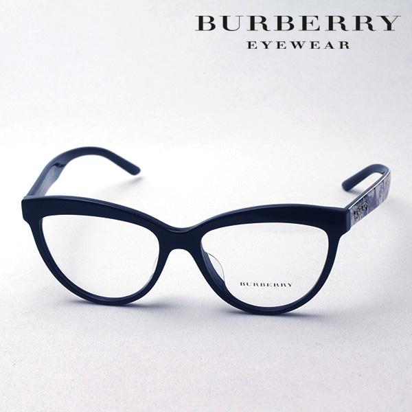 NewModel 4月5日(金)23時59分終了 ほぼ全品ポイント20倍+5倍+2倍 【バーバリー メガネ 正規販売店】 BURBERRY BE2276F 3723 伊達メガネ 度付き ブルーライト カット 眼鏡 Made In Italy フォックス