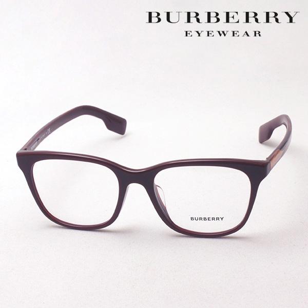 NewModel 4月5日(金)23時59分終了 ほぼ全品ポイント20倍+5倍+2倍 【バーバリー メガネ 正規販売店】 BURBERRY BE2284F 3760 伊達メガネ 度付き ブルーライト カット 眼鏡 Made In Italy スクエア