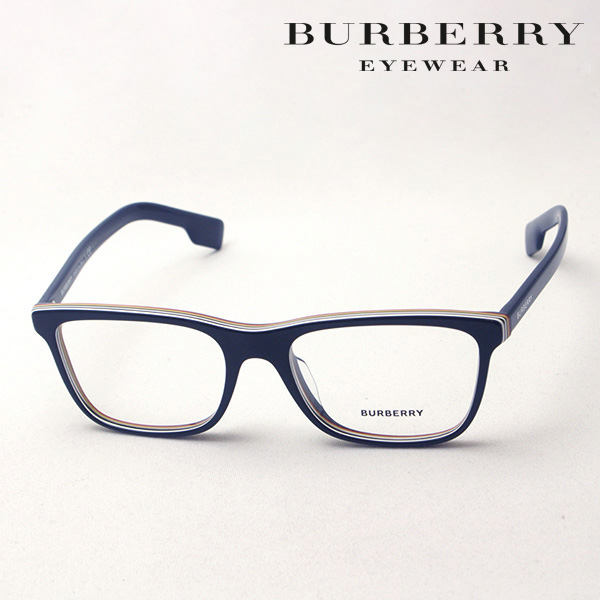 NewModel 【バーバリー メガネ 正規販売店】 BURBERRY BE2292F 3799 伊達メガネ 度付き ブルーライト カット 眼鏡 Made In Italy スクエア