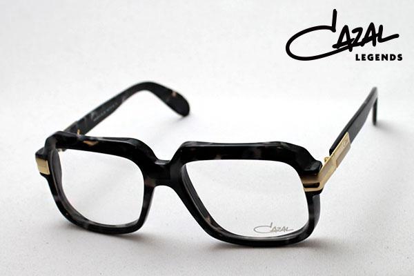 4月7日(日)23時59分終了 ほぼ全品ポイント20倍 【カザール メガネ 正規販売店】 CAZAL LEGENDS ビースティン CZ607 090 CAZAL×BEASTIN 眼鏡 スクエア