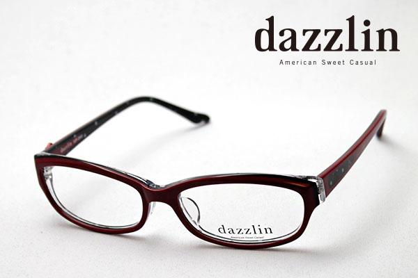 金曜朝9時59分終了 ほぼ全品がポイント15~20倍 【ダズリン正規店】 DZF-2502-3 dazzlin ダズリン メガネ 伊達メガネ 度付き ブルーライト ブルーライトカット 眼鏡 DEAL レッド系おしゃれ シェイプ