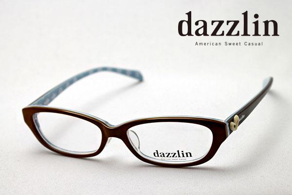 金曜朝9時59分終了 ほぼ全品がポイント15~20倍 【ダズリン正規店】 DZF-2512-2 dazzlin ダズリン メガネ 伊達メガネ 度付き ブルーライト ブルーライトカット 眼鏡 DEAL ブラウン系おしゃれ シェイプ