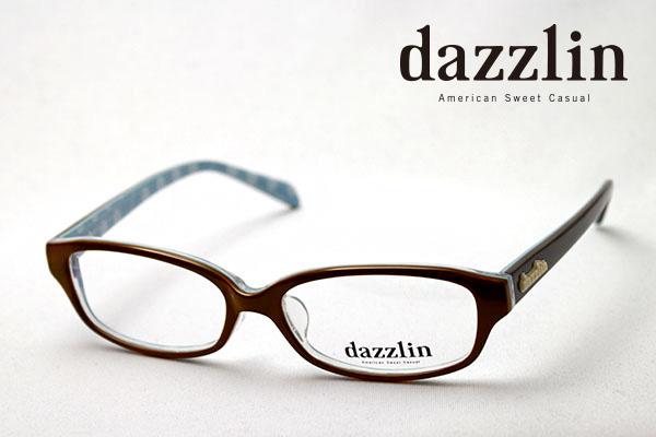 金曜朝9時59分終了 ほぼ全品がポイント15~20倍 【ダズリン正規店】 DZF-2516-2 dazzlin ダズリン メガネ 伊達メガネ 度付き ブルーライト ブルーライトカット 眼鏡 DEAL ブラウン系おしゃれ シェイプ