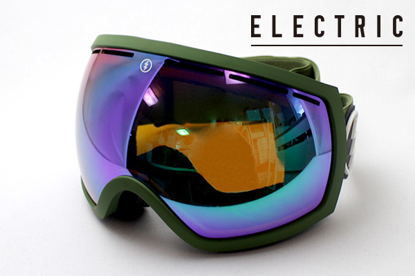 【ELECTRIC】 エレクトリック ゴーグル DEAL EE EG2 I BGNC ELECTRIC イージーツー アジアンフィット EG2 ASIAN FIT 球面 シェイプ