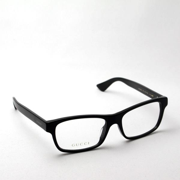 明日の朝9時59分終了 ほぼ全品20~25%ポイントバック  グッチ メガネ 正規販売店 アレッサンドロ・ミケーレデザイン GG0006OA 001 伊達メガネ 度付き 眼鏡 POP WEB Made In Italy DEAL スクエア