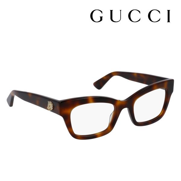 今夜23時59分終了 ほぼ全品がポイント15~20倍 【グッチ メガネ 正規販売店】 GUCCI アレッサンドロ・ミケーレデザイン GG0031O 002 伊達メガネ 度付き 眼鏡 SYMBOLS Made In Italy フォックス