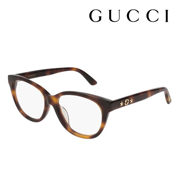 NewModel 4月7日(日)23時59分終了 ほぼ全品ポイント20倍 【グッチ メガネ 正規販売店】 GUCCI アレッサンドロ・ミケーレデザイン GG0211OA 002 伊達メガネ 度付き 眼鏡 SYMBOLS Made In Italy フォックス